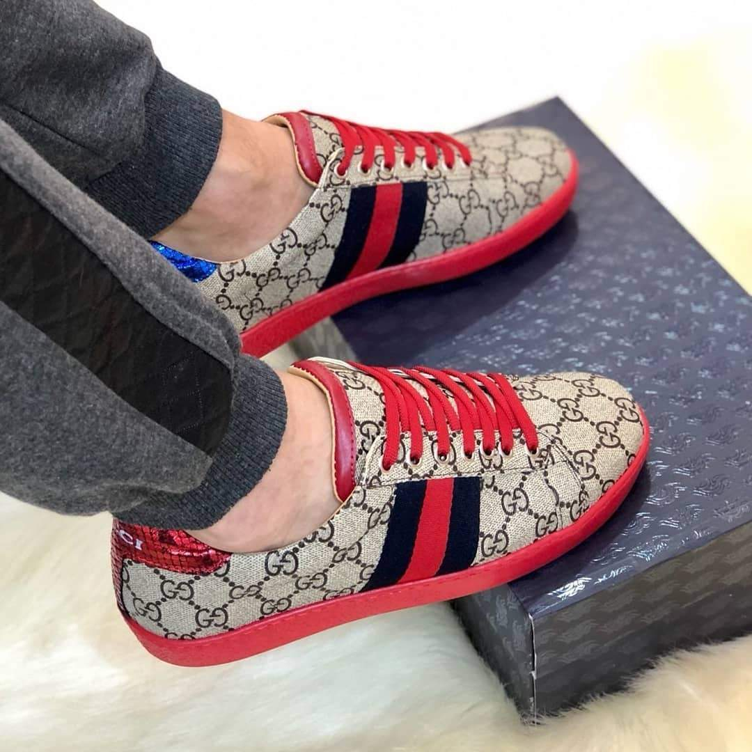 Image of Gucci Woman Men Fashion Casual Sneakers Sport Shoes