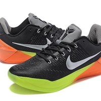 Nike Men's Kobe A.D. EP Black/Gray Basketball Shoe Size US7-12