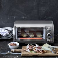 Williams Sonoma Open Kitchen Stainless-Steel Toaster Oven