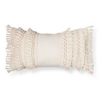 Cream Solid Throw Pillow - Threshold™