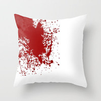 Bloody ... Throw Pillow by Nicklas Gustafsson | Society6