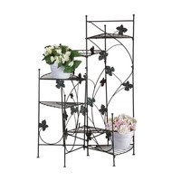 Zingz & Thingz Climbing Vines Multi-Tiered Plant Stand