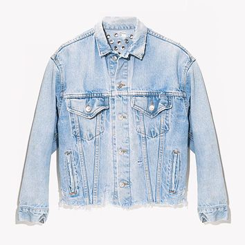 RWDZ Eyelets & Denim Vintage Jacket