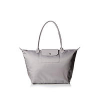 Longchamp Le Pliage Neo Large Shoulder Tote Bag, Pebble