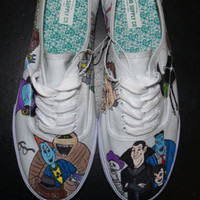 Hotel Transylvania Shoes (In Color)