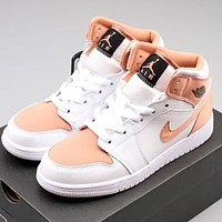 Trendsetter Nike Air Jordan 1 Mid Women Fashion Casual  Old Skool Shoes