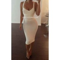 All Ivory Affair Crossover Outfit - Jaide Clothing