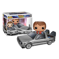 Funko POP! Movies - Vinyl Figure - Back to the Future - DELOREAN (4 inch) (Pre-Order ships April): BBToyStore.com - Toys, Plush, Trading Cards, Action Figures & Games online retail store shop sale