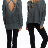 Heat of the Moment Oversize Sweater