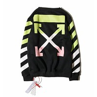 Mens OFF-WHITE Long Sleeve T Shirt