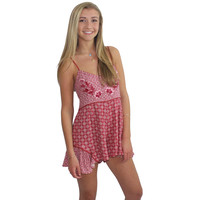 Crimson and Clover Playsuit by Somedays Lovin'