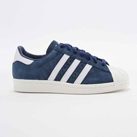 Adidas Superstar 80s Suede Trainers in Navy - Urban Outfitters