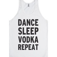 White Tank | Funny Party Shirts
