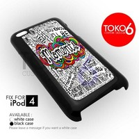 AJ 2012 Moments One Direction Lyric - ipod 4/4s Case