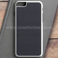 Louis Vuitton Black Grey Texture iPhone 6 Plus Case | casefantasy