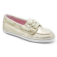 Sperry Top-Sider Girls' Cruiser Boat Shoes - Gold