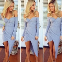 Claudia High-Low Dress