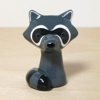 Handmade Gifts | Independent Design | Vintage Goods Mini Raccoon Figurine - Home Decor - For The Home