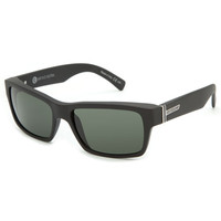 Von Zipper Shift Into Neutral Fulton Sunglasses Black Satin/Grey One Size For Men 20479118201