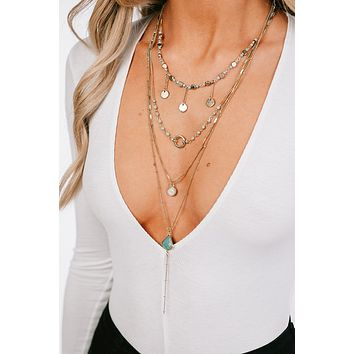 Always The Favorite Layered Necklace (Gold)