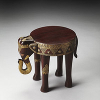 Butler Specialty Ganesh Brass Inlay Elephant Table - 3320290