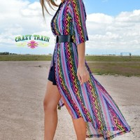 Diamond Rio Serape Duster