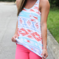 Summer Aztec Darling Tank