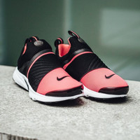 NIKE contrast Trending Fashion Casual Sports Shoes red toe -white soles