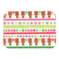 "Heidi Jennnings ""Gumdrop Buttons"" Gingerbread Place Mat"