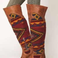 FREEBIRD By Steven Caballero Tall Boot in Cognac Color at Free People Clothing Boutique