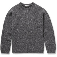 Valentino - Bonded Flecked Knitted-Wool Sweater | MR PORTER