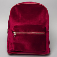 Red Velvet Backpack