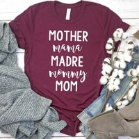 Many Mom Names T-Shirt