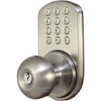 Morning Industry Inc Touchpad Electronic Door Knob (satin Nickel)