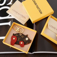 Louis Vuitton LV Superstition Pig Bag Charm And Key Holder