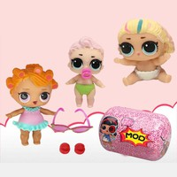 1 pcs LoL capsule Doll Unpacking High-quality Dolls Baby Tear Open Color Change Egg LoL Doll Action Figure Toys Kids Gift