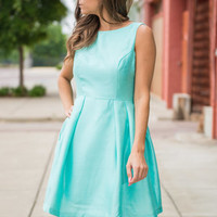 Icing On The Cupcake Dress, Mint