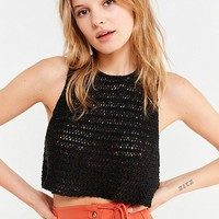 UO Eleni Yarn Sweater Tank Top | Urban Outfitters