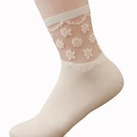 Casual Lace Patchwork Cute Socks