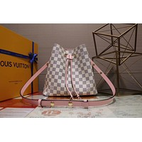 LV Louis Vuitton MONOGRAM CANVAS NEONOE BUCKET SHOULDER BAG