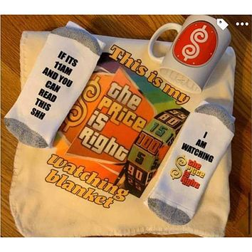 Price Is Right Blanket Set