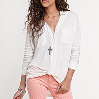 Kirra Knit Button Down Top at PacSun.com