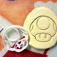 Toad Cookie Cutter great for cutting Bread, Cheese, Soft fruit and more