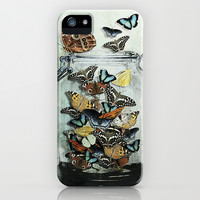 Butterfly Jar iPhone & iPod Case by Heather Landis