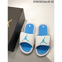 New Nike Air Jordan 6 Eclipse cheap Men's and women's nike Slippers Beach shoes
