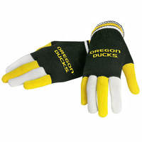 University of Oregon Ducks Collectibles Multi Colored Knit Gloves Ladies One Size