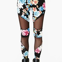 Tainted Rose Leggings