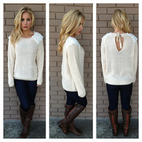 Lacey Vintage Sweet Knit Sweater