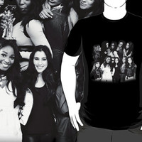 Fifth Harmony Evolution T-Shirt Black and White