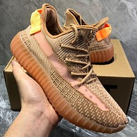 Adidas Yeezy Boost 350  V2 Hollow out coconut running shoes